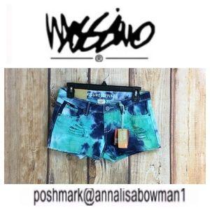 💸Mossimo Blue Hawaii jean short size 7